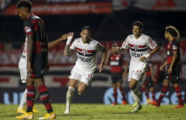 São Paulo elimina Flamengo e vai à semi da Copa do Brasil