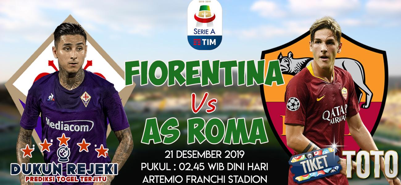 Prediksi Fiorentina vs AS Roma 21 Desember 2019