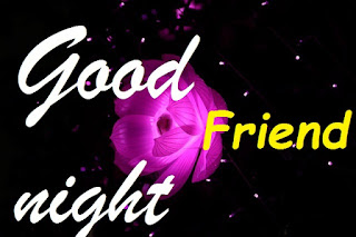 good night rose for friend