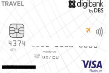 Review Kartu Kredit DBS Visa Travel Platinum