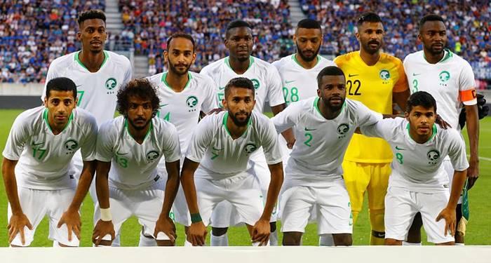 Piala Dunia 2018 Timnas Arab Saudi