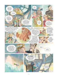 "Comic: Review de ""El castillo de las estrellas: Un francés en Marte"" Vol 4 de Alex Alice - Norma Editorial"