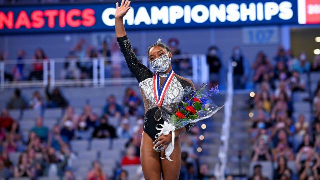 Simone Biles 7 vezes campeã nacional