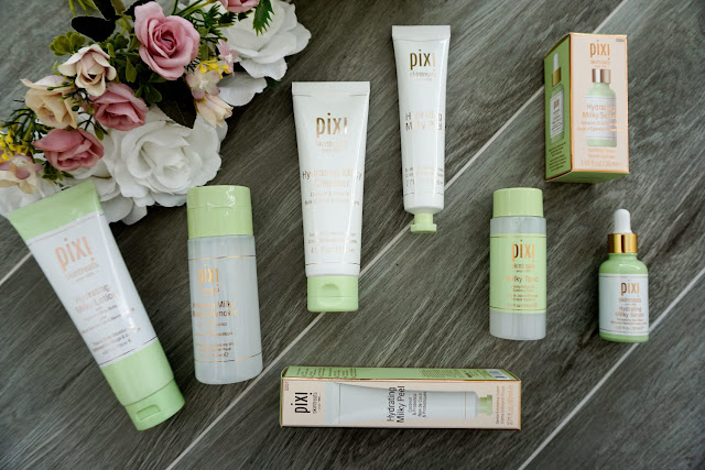 EXCLUSIVE UNBOXING WITH PIXI SKIN TREATS - THE HYDRATING MILKY COLLECTION