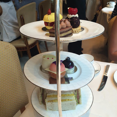 Afternoon Tea, Espelette @ The Connaught, Mayfair, London