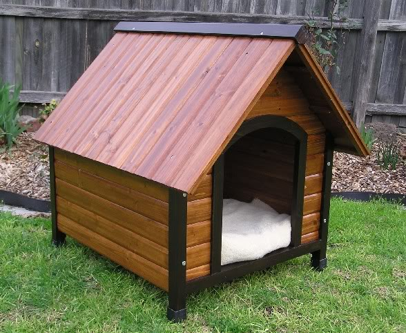 Dog houses and dog house plans animals library for Dog kennel floor plans