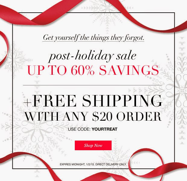Avon After Christmas Sale with Free Shipping on $20