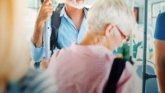 idosos 60 anos direito gratuidade transporte