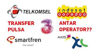 Cara transfer pulsa indosat ke operator lain seperti telkosel, XL, Axis, TRi, smartfren