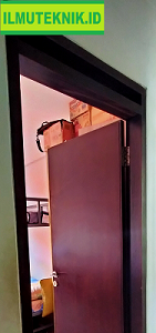 Bagian-bagian kusen pintu - ilmuteknik.id
