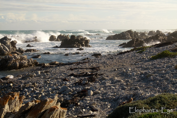 Rough seas at Agulhas