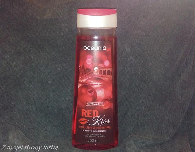 Żel pod prysznic z Biedronki Oceania Aromatic Red Kiss