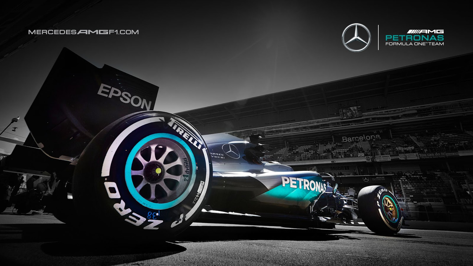 Mercedes Car Wallpapers For Windows 7 Mercedes Amg Petronas W07 2016 F1 Wallpaper Kfzoom