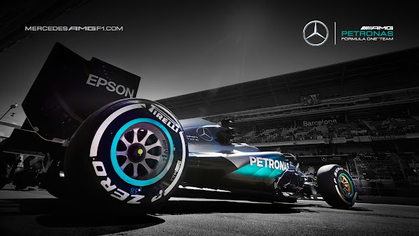 2016 Mercedes Petronas F1