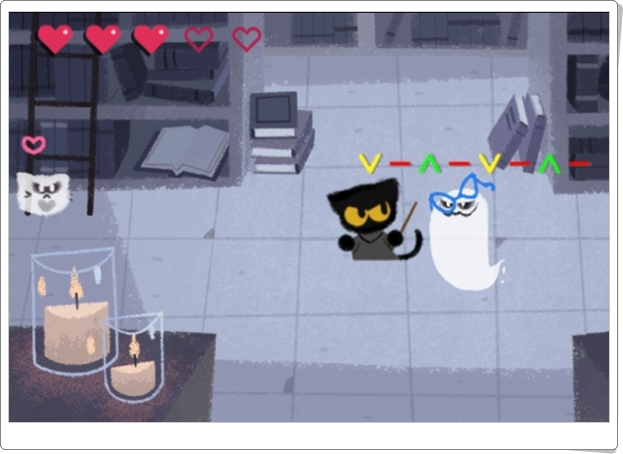 """Juegos de Halloween: """"Momo y el rescate del Libro de Hechizos"""""""