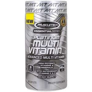 Muscletech - Essential Series Platinum Multi Vitamin