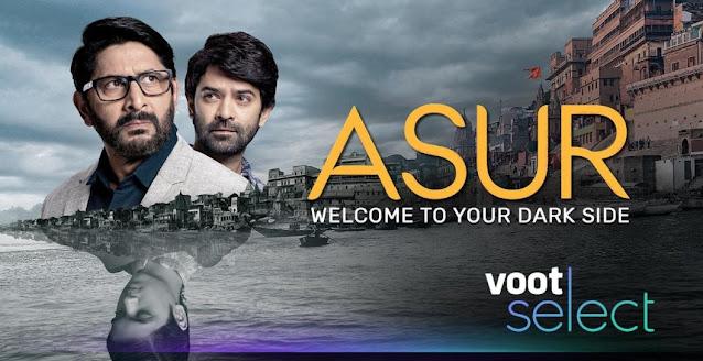 Asur web series in hindi poster