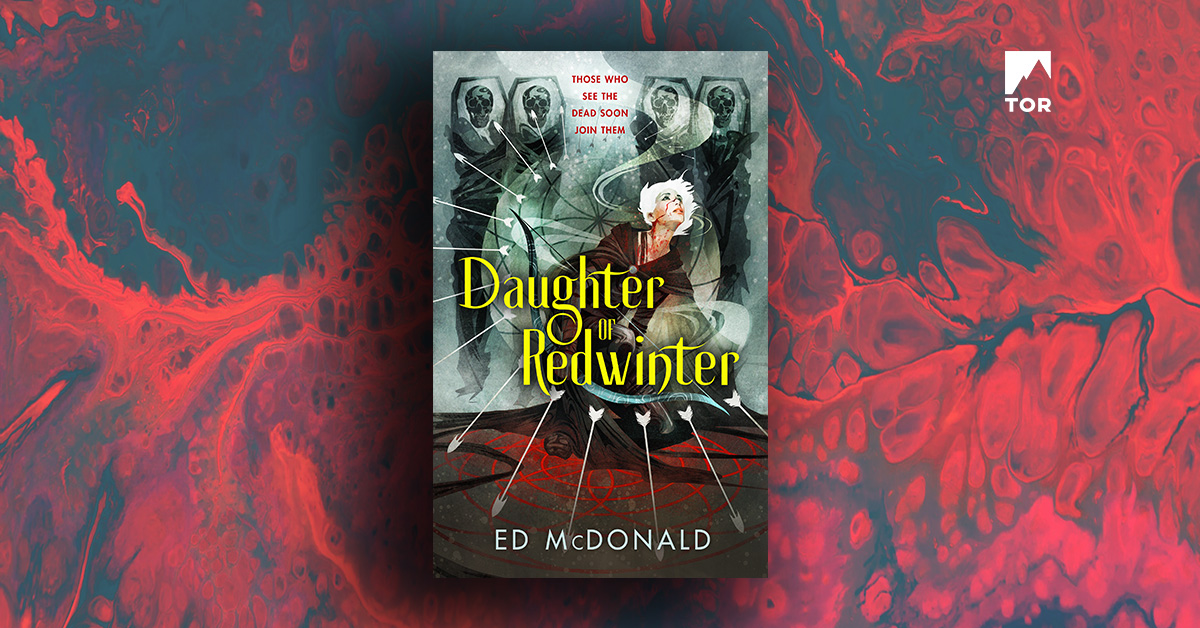 Daughter of Redwinter (US Edition) by Ed McDonald