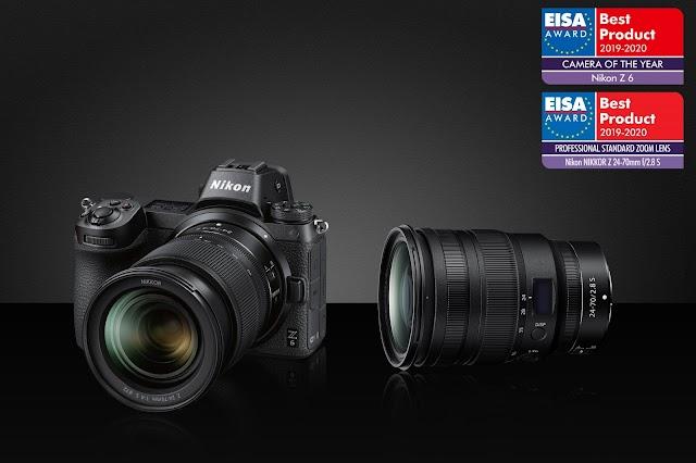 جوائز جمعية التصوير والصوت الأوروبية تذهب إلى كاميرا نيكون Z 6 وعدسة نيكور Z مقاس 24-70 مم ببؤرة f/2.8 S