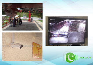 Murree Chair Lift CCTV Security Cameras Installation