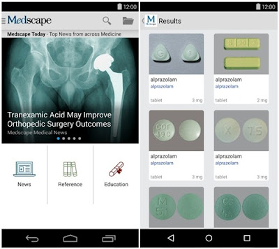 aplikasi kedoteran medscape