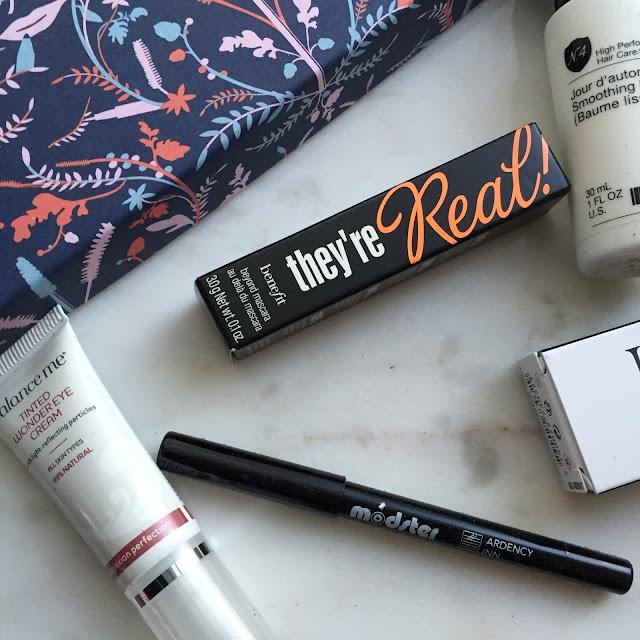 November Birchbox Unboxing Review Beauty Blogger Benefit Mascara