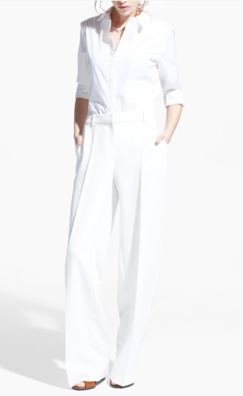 Mango Textured Straight Cut Trousers