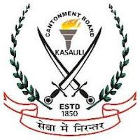 Cantonment Board Kasauli 2021 Jobs Recruitment Notification of Computer Programmer posts