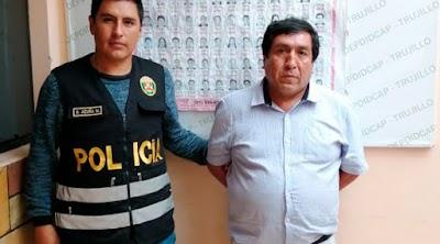 Capturan a ex alcalde de Carabamba condenado por corrupción