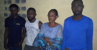 Police Arrests 4 Suspects For Killing A 16-year-old House Girl