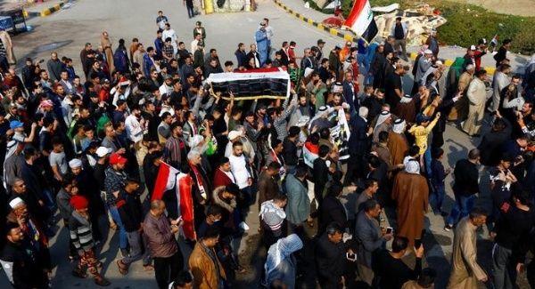 Continúan protestas en Irak para exigir renuncia del gobierno