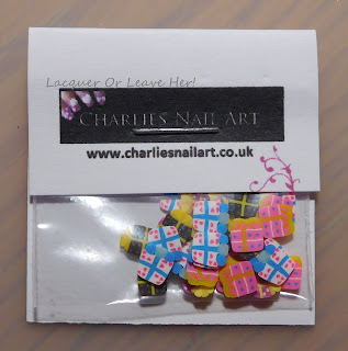 Fimo presents from Charlie's Nail Art