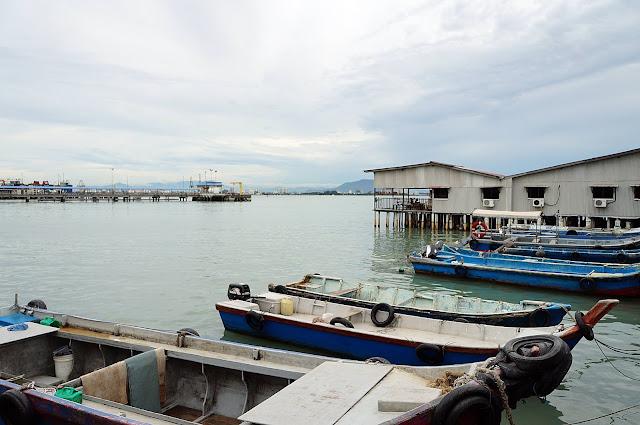Perkampungan Tionghoa di Jetty, 7 klan di kota Penang