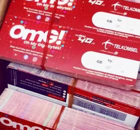 Voucher Telkomsel 2.5 GB Rp. 19.000
