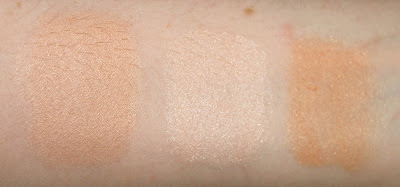 hourglass ambient lighting palette powder dim light incandescent light radiant light review swatch swatches