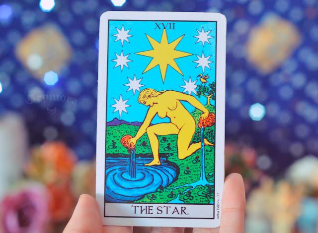 Significado da Carta 17 - A Estrela no Tarot