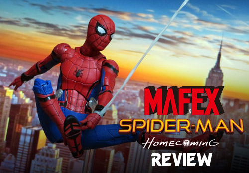MAFEX Spider-Man Homecoming Toy Review