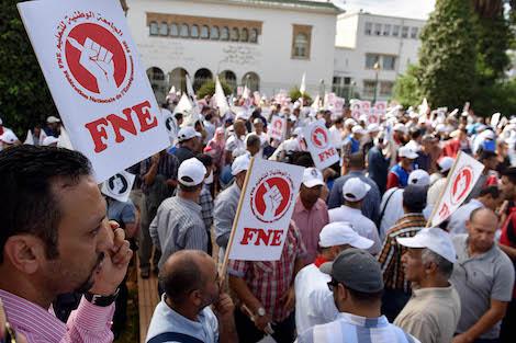 الأمازيغية وفلسطين.. اصطفافات تخترق أكبر نقابة تعليمية بالمغرب