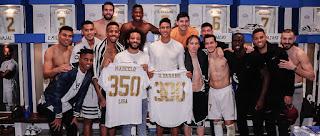 Marcelo jugo su partido 350 de blanco