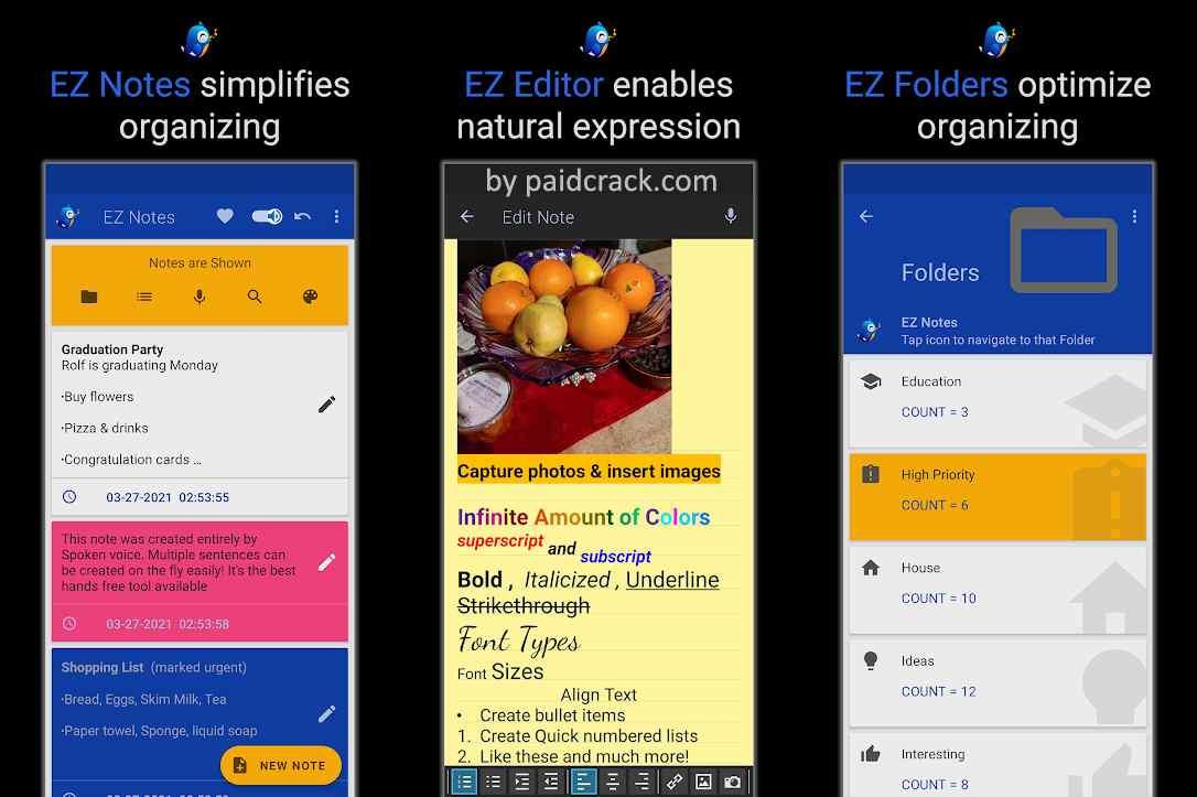 EZ Notes Organizer - Notepad & To-Do Mod Apk
