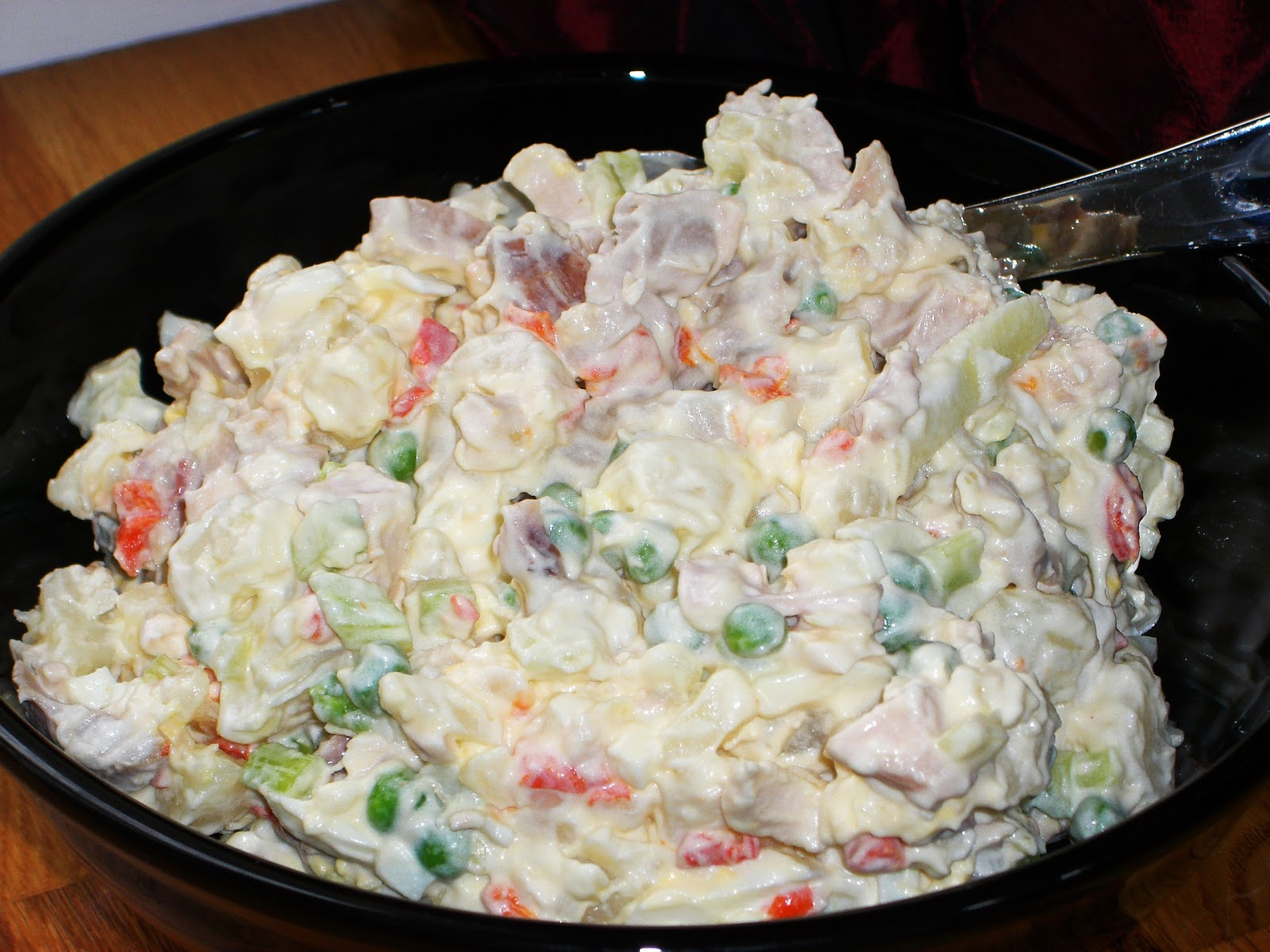Ensalada de pollo chicken salad mmmm cuba for Como hacer una cocina