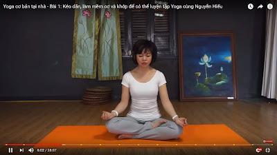 Bạn có nên tập Yoga ở nhà?