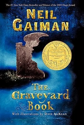 The Graveyard Book by Neil Gaiman – book cover
