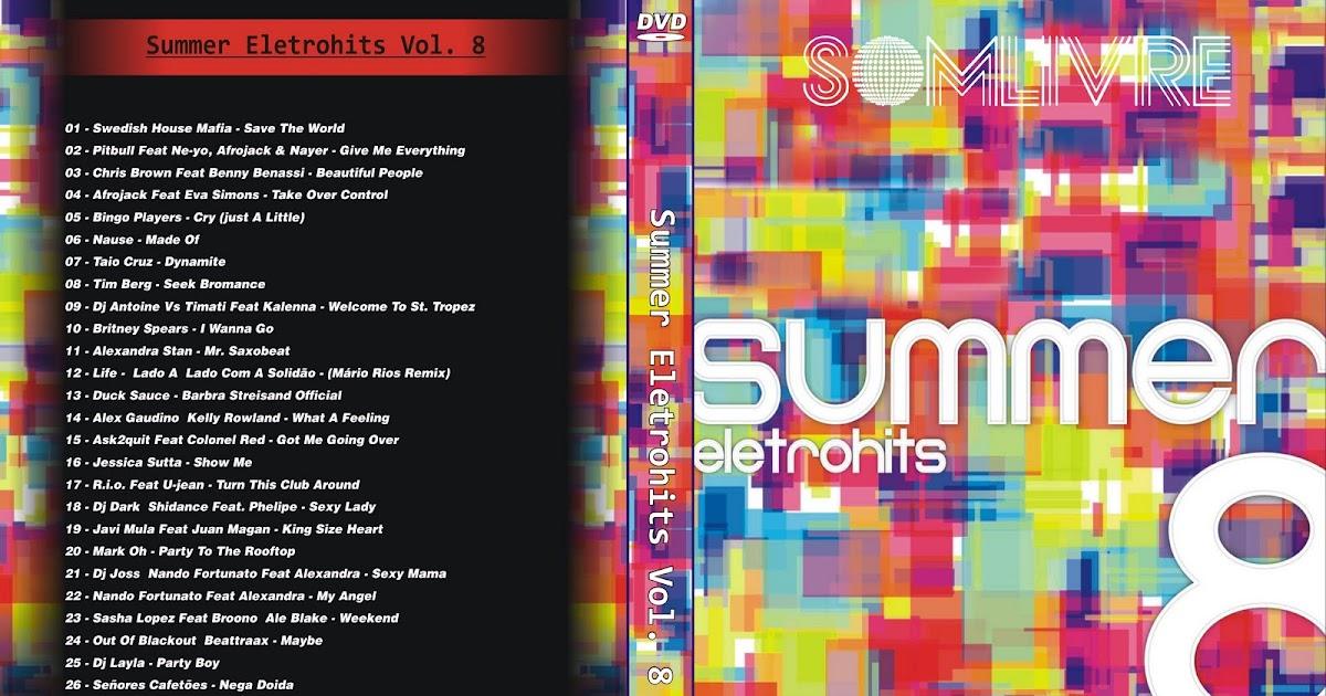dvd summer eletrohits 8 dvd-r