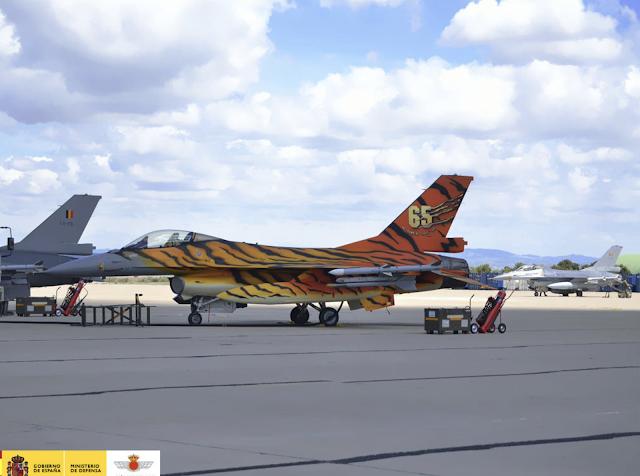 Jornada de puertas abiertas en la Base Aérea de Zaragoza (Tiger Meet), 21 de mayo