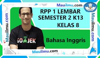 rpp-1-lembar-bahasa-inggris-kelas-8-smp-semester-2