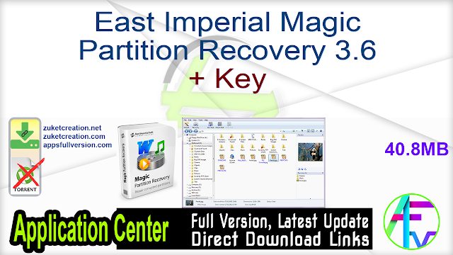 East Imperial Magic Partition Recovery 3.6 + Key