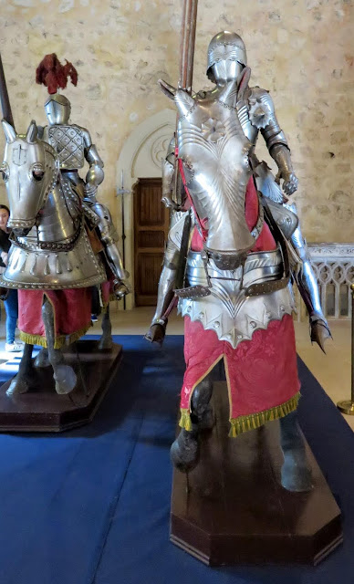 Medieval armour at the Alcazar de Segovia