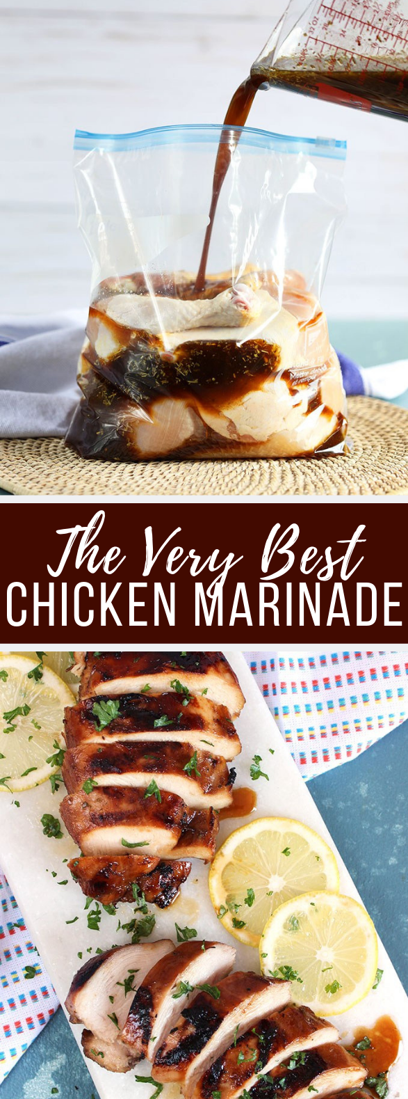 THE VERY BEST CHICKEN MARINADE RECIPE #dinner #grilledchicken