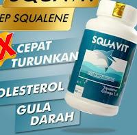 (PROMO) PAKET 2 SQUAVIT 40 Softgel Squalene Deep Ocean Fish Liver Oil - Minyak Ikan Omega 3 :